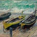 Três Barcos de Pesca