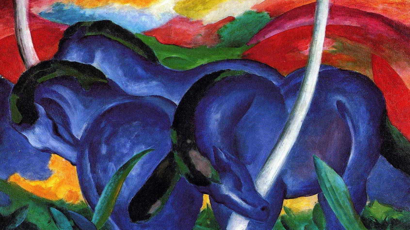 Grandes Cavalos Azuis