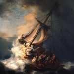 Cristo na Tempestade do Mar da Galiléia