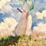 Mulher com Sombrinha (1886)