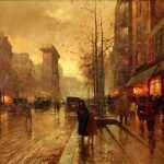 Crepúsculo no Boulevar Saint Denis (1918)