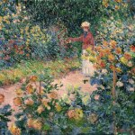 Jardim em Giverny (1895)