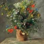 Flores em um Vaso de Barro (1866)