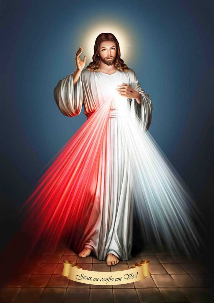 Jesus Misericordioso (2010) | Tela para Quadro na Santhatela